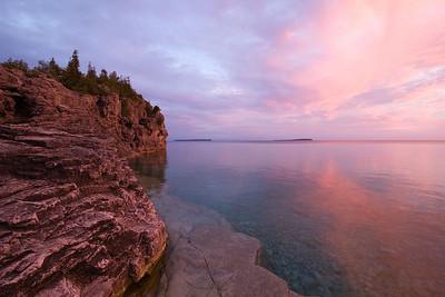 Sunrise, Bruce Peninsula National Park