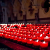 Dedication Candles in the Basilica of the Holy Blood