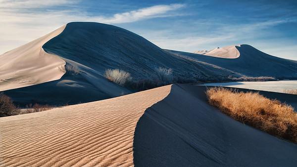 Bruneau Sand Dunes, Idaho Landscapes. By Mike Reid, All Outdoor Photography, Boise Idaho.