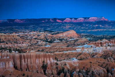 Sunset over Bryce