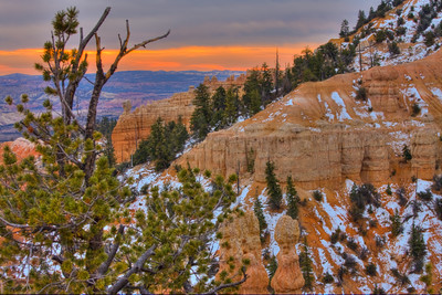 Overcast Sunrise at Bryce