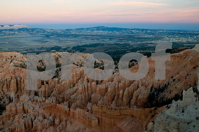 Sunset in Bryce Canyon National Park, Utah