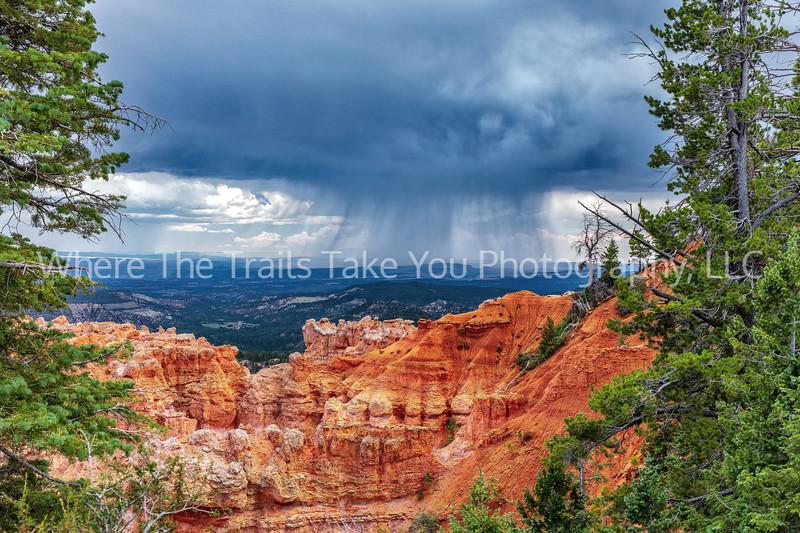 117.  Summer Monsoon Rains At Bryce Point