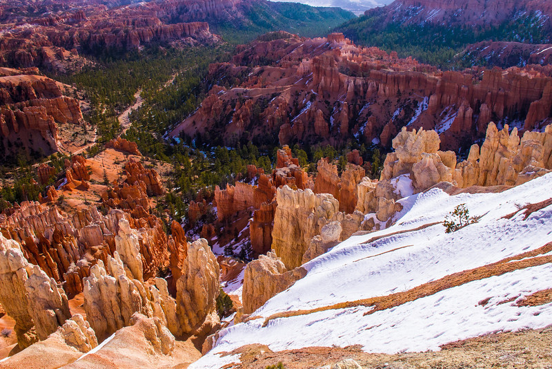 In terms of erosion progression Bryce Canyon is pretty far along.