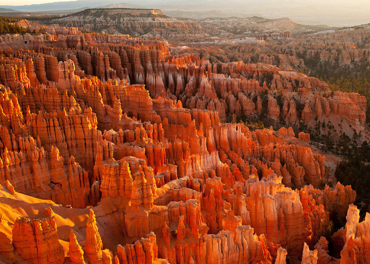 First Light at Inspiration Point - Bryce Canyon