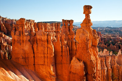 Thor's Hammer from the Navajo Trail - Bryce Canyon