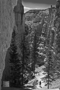 """Canyon Walk"", Navajo Loop Trail, Bryce Canyon NP, Ut., July'07"