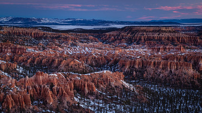 Bryce Point, Bryce Canyon NP, Utah.