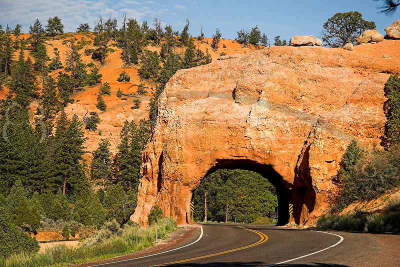 The Road out of Bryce
