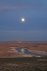 Moonrise over Lake Powell 2653a