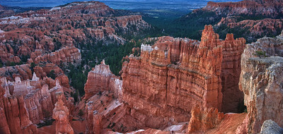 The Orange Hoodoos of Bryce Canyon National Park.