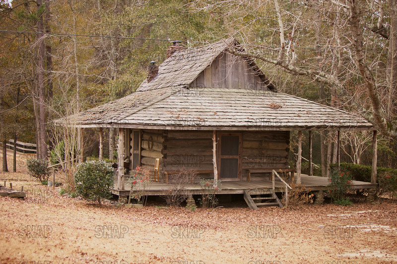 Old house in rural Alabama.