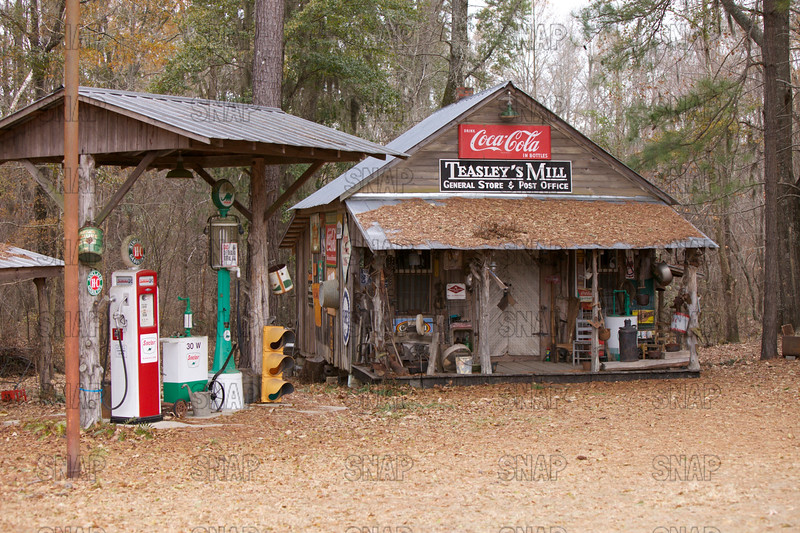 Old store in rural Alabama.