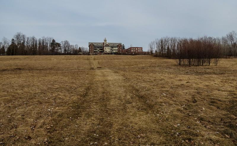 Burlington College from the lake side, Burlington VT.