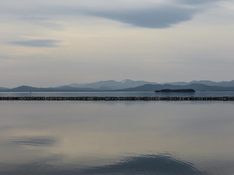 Lake Champlain, Burlington VT.
