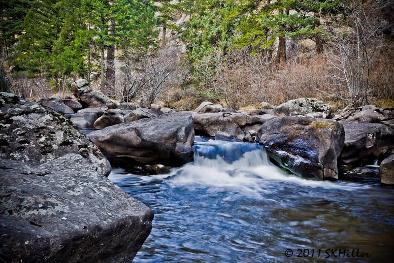 St Vrain river below Button Rock Dam