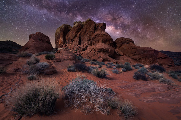 Red Rock Nightscape