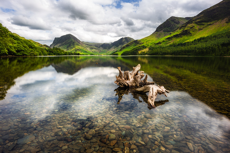 Shores of Buttermere - Lake District, UK