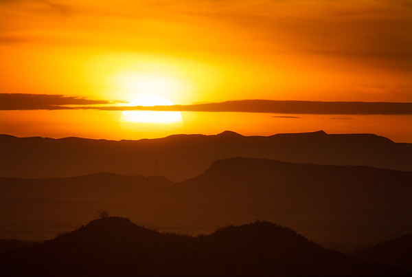 Terlingua Sunset, not a Tequila Sunrise