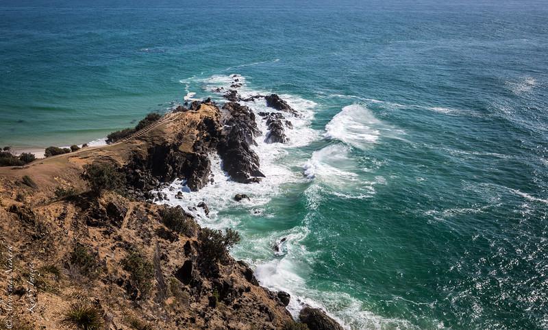 Byron Bay headland, New South Wales