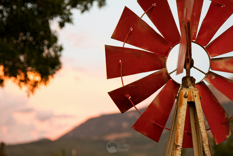Sunset Windmill<br /> Paonia, Colodado