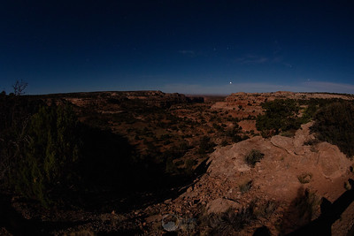 Night at Island in the Sky, Canyonlands National Park