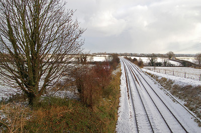 The railway at South Greetwell
