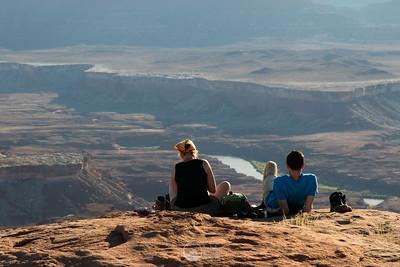 Murphy's Point Sunset Canyonlands National Park, Utah