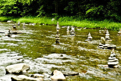 Cairns of Green River