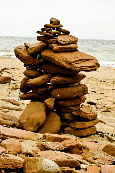 Redstone Cairn and Rope