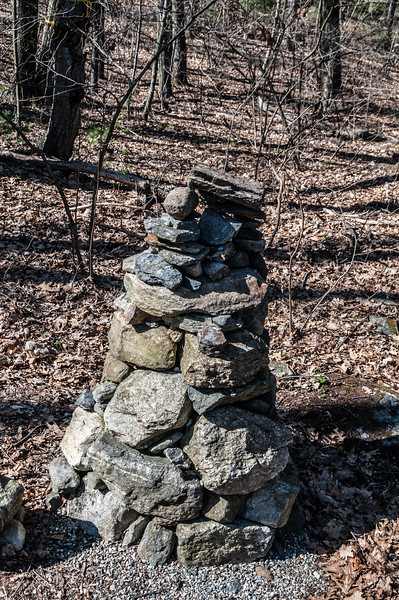 Evolving Cairn at Tower Hill Botanical