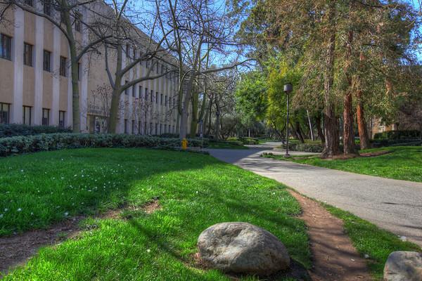 California Institute of Technology campus view, Pasadena, California.