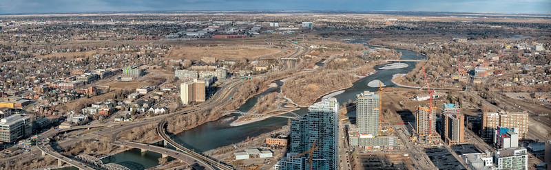 Calgary..North East Panorama