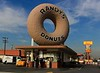 If you rent a car at LAX Los Angeles and head for the nearby Interstate 405 you will pass by Randy's Donuts, an historic L.A. fixture for decades and viewed in more than 25 Hollywood movies, music videos, calendars and TV shows. Their tasty donuts served as a more than adequate breakfast for me on our trip north to Monterrey.