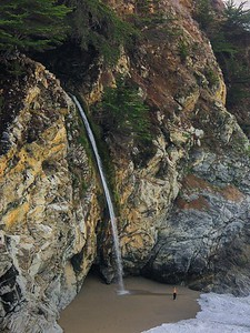 McWay Falls in Julia Pfeiffer Burns State Park.