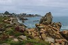 Rocks on Monterrey Peninsula look like the rocks sculpted out of plaster at Disneyworld, giving me a new respect for the rock artists at Disneyworld.