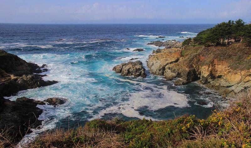 Coastline just south of Carmel.