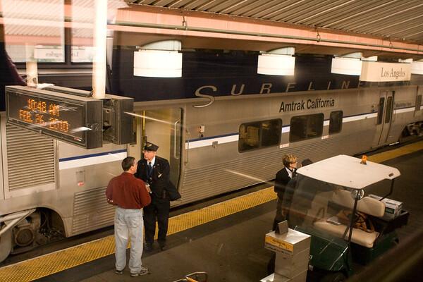 California Coast via Amtrak