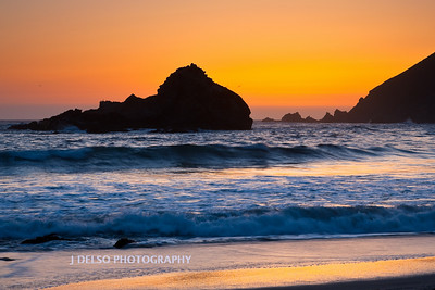 Big Sur Coast Sunset-4672