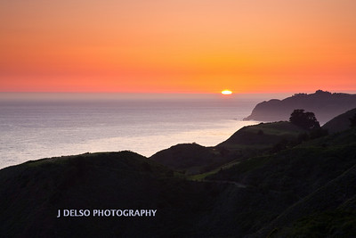 Big Sur Coast Sunset-4551
