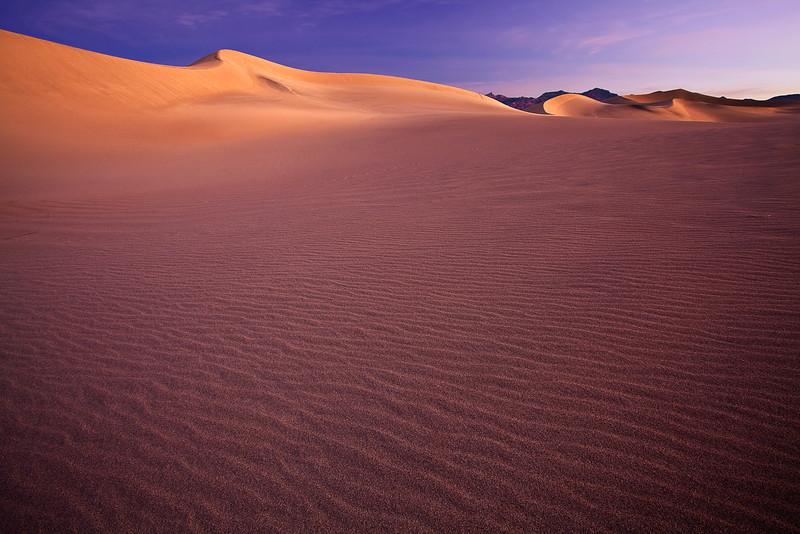 California, Death Valley National Park, Mesquite Dunes, Sunrise, Landscape, 加利福尼亚, 日出, 死亡谷国家公园,  风景