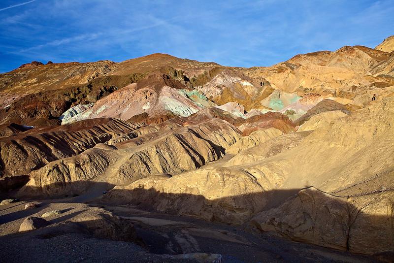 California, Death Valley National Park, Artists Palette,  加利福尼亚, 死亡谷国家公园, 风景