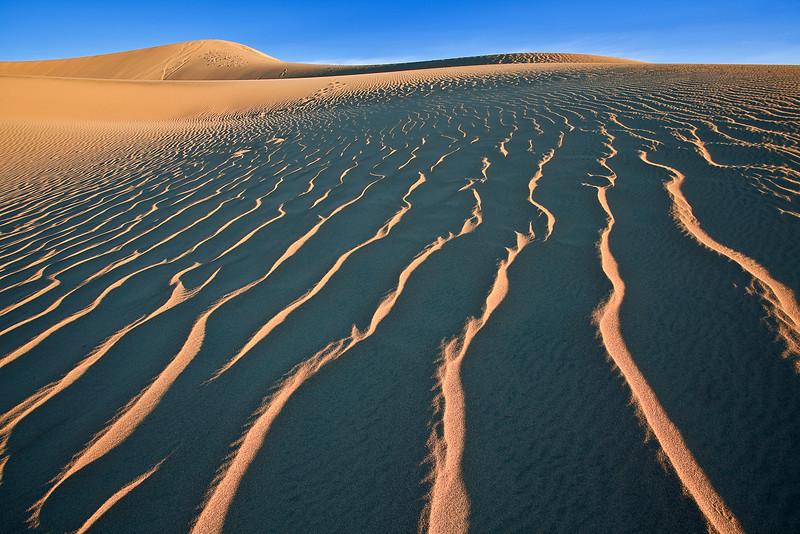 California, Death Valley National Park, Mesquite Dunes, Landscape,  加利福尼亚, 死亡谷国家公园,  风景
