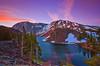 California, Eastern Sierra, Ellery Lake, Sunrise, 加利福尼亚; 优胜美地国家公园, 日出