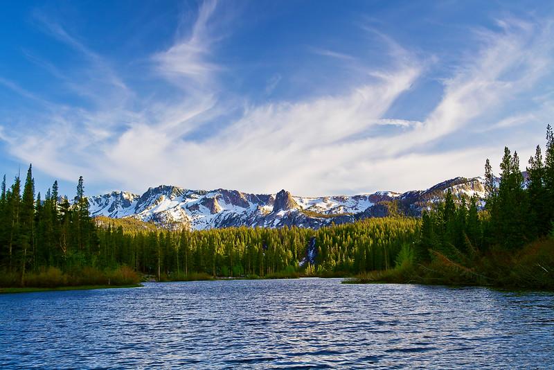 California, Eastern Sierra, Twin Lake, 加利福尼亚