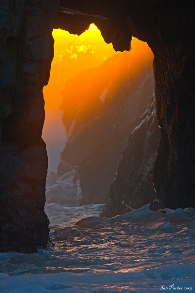 Pfeiffer Arch sunglow