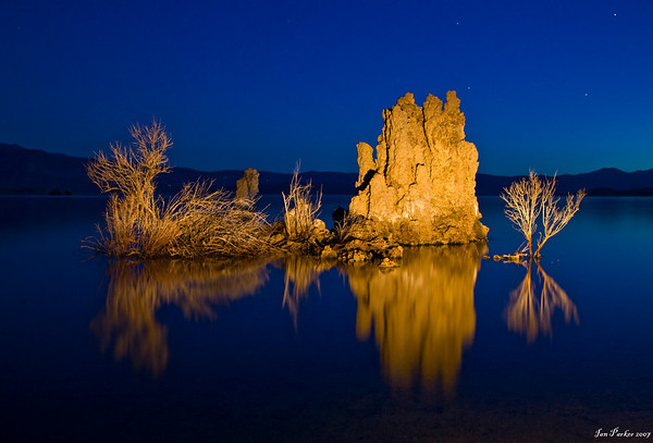 Mono Lake tufa twilight