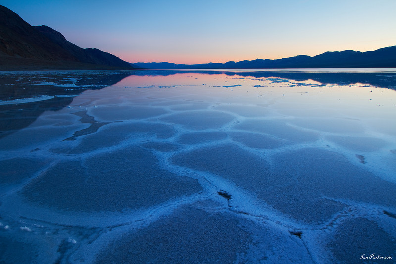 Badwater basin; Death Valley National Park