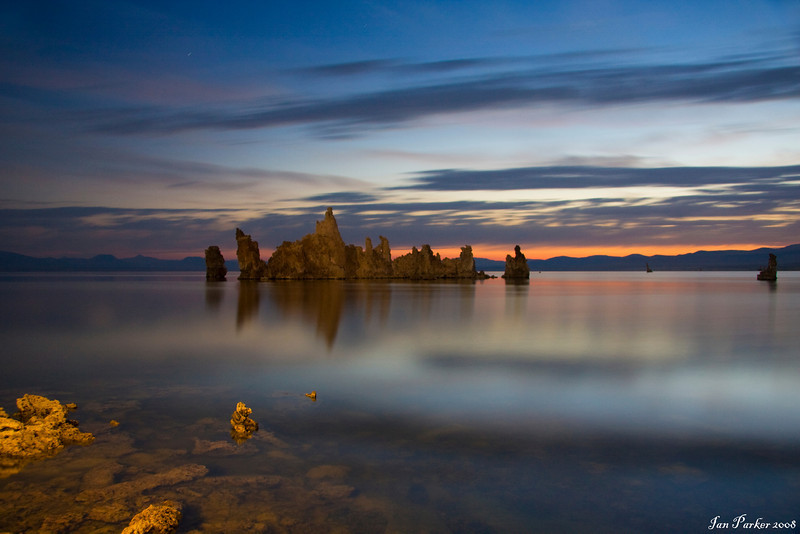 Ghost cloud; Mono Lake