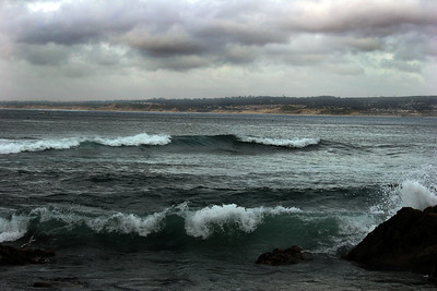 Monterey Bay Beach-Side Surf